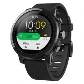 Часы Amazfit Stratos (Smart Sports Watch 2) Черный (black)