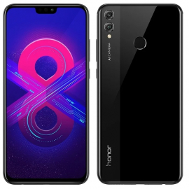 Honor 8X 4/128GB Black (черный) РСТ