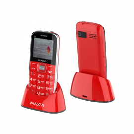 Телефон Maxvi B6 Красный (red)