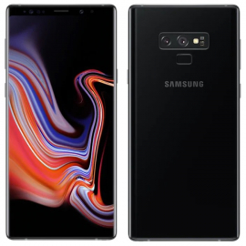 Смартфон Samsung Galaxy Note 9 128GB Midnight black (черный) РСТ