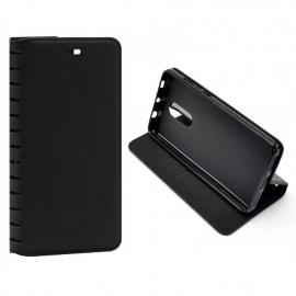 Чехол книжка черная для Huawei (в ассортименте)