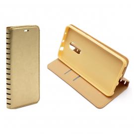 Чехол книжка золотая для Huawei (в ассортименте)