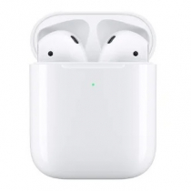 Беспроводные наушники Apple AirPods 2 (с беспроводным зарядным футляром) Белый
