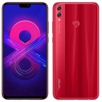 Honor 8X 4/128GB Red (красный) РСТ
