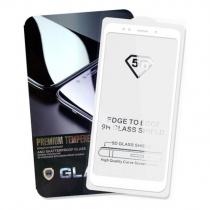 Защитное стекло 5D Белое для Xiaomi Mi Max 3