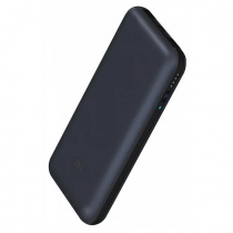 Аккумулятор внешний XIAOMI, ZMI QB815, 15000mAh, пластик, 1 USB выход, 2.1A, цвет: чёрный